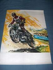 CZ Jawa Poster by Metzeler NOS a beauty ahrma reifen vintage motocross racing