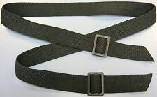 US Military Issue Silent Sling Black Nylon 2 Point Rifle Sling USGI