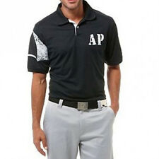 Brand New Arnie Arnold Palmer Victory Short Sleeve Solid Pique Polo Black Size L
