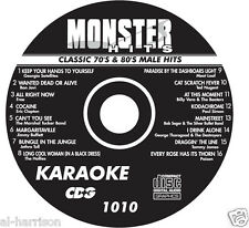 KARAOKE MONSTER HITS CD+G CLASSIC 70's & 80's MALE HITS #1010