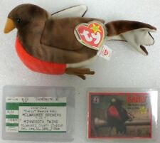 Early Robin Brewers TY Beanie Baby Sports Commemorative