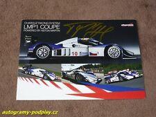 Tomas ENGE - original AG, 2008 Lola LMP1 Coupe/Aston Martin, Karte/card 15x21