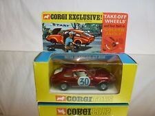 CORGI TOYS 341 MINI MARCOS GT 850 + JACKS #30 - RED 1:43 - VERY GOOD IN BOX