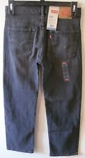 NWT Levis 550 Boys Relaxed Fit Jeans 18 Reg 29x29 Smoke Monster MSRP$42
