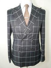 Parsons Made in South Korea SLIM WINDOWNPANE 36 UK 46 EU Jacket Blazer