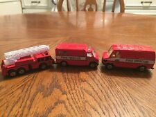 Maisto Fire Rescue Lot Of 3 Diecast Vehicles 1:64