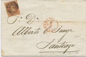Chile Brief Valparaiso Santiago 1859