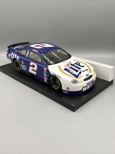 1999 Action Racing 1/18 Scale Rusty Wallace Miller Lite Ford Taurus NASCAR