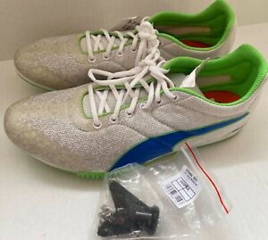 PUMA JUNIOR RUNNING TRACK SPIKES TFX STAR V3 SPIKES KEY UK8 -US9 New without Box