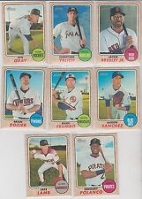 2017 Topps Heritage Christian Yelich High # SP #466 Marlins