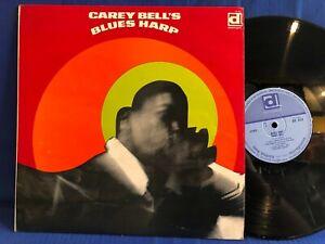 CAREY BELL BLUES HARP DELMARK 622 ORIGINAL UK LP NEAR MINT