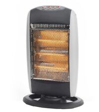 Daewoo HEA1131 1200W 3-BAR Oscillating Halogen Heater