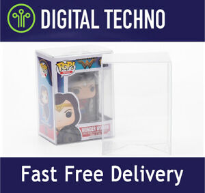 """NEW Crystal Clear Display Box Cover Case Protector for 4"""" Funko Pop Vinyl Figure"""
