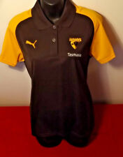 HAWTHORN OFFICIAL TASMANIA PUMA POLO SHIRT IN GREAT CONDITION SIZE L (MORE S)