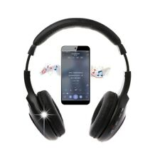 5 In 1 Stereo Wireless Headset Headphone Transmitter FM Radio For PC TV MP3 DVD