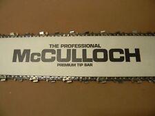 """MCCULLOCH  32"""" BAR 105 125 D44 1-40 1-60 1-70 250 300 450 550 790 795 1000 81"""