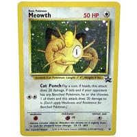 Meowth #10 Black Star Promo Pokemon Card - Light Play - Holo & Rare - WOTC 1999