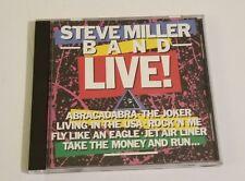 STEVE MILLER BAND LIVE CD