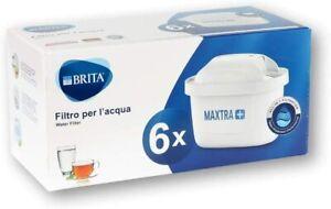 6 Pack BRITA Maxtra+ Plus Water Filter Jug Replacement Cartridges Refills UK