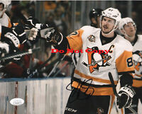 Pittsburgh Penguins Sidney Crosby Autographed Signed 8x10 NHL Photo Reprint