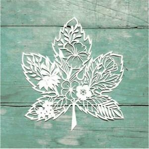 Maple Leaf Modeling Metal Cutting Dies Embossing Stencil Album Decorative