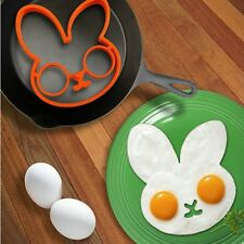 New Cute Creative Fried Eggs Models for Silicone Cartoon Rabbit Omelette Mold
