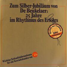 """7"""" 25 Jahre De Beukelaer EQUALS/LA BIONDA/ADRIANO CELENTANO Reklame ARIOLA 1980"""