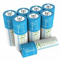 8 IFR 14430 3.2v LiFePO4 Lithium Phosphate Rechargeable Batteries 400 mAh