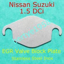 EGR valve blanking plate Nissan1.5 DCi Micra Qashqai Note Kubistar Suzuki Jimny