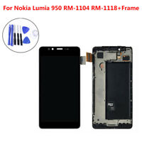 For Nokia 950 Touch Screen Digitizer LCD Display Assembly Digitizer Screen Black