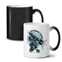 Keep Moving Forward NEW Colour Changing Tea Coffee Mug 11 oz | Wellcoda