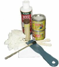 Non Structural Rotted Wood Restoration Repair Kit Hardener Epoxy Paste Putty