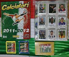 Album Calciatori 2011 2012 set completo+aggiornamenti+film campionato