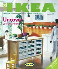 Catalog - IKEA Canada - 2001 - Kitchen Home Furniture Design Catalogue