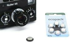 Rollei 35 35S 35T 6x Batterie & Adapter Typ 675 zu PX625 6x batterry & adapter