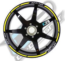 Strisce adesive per cerchi moto tipo 1 YAMAHA MT 10 sticker strip mt10 sticker