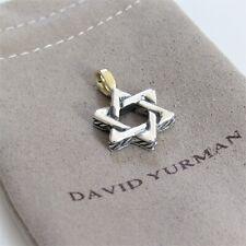 DAVID YURMAN PENDANT DAVID STAR WITH 18K GOLD