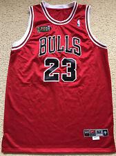 ~08 #23 JORDAN Chicago Bulls 1998 NBA Finals Basketball Jersey Nike Mens 52 VGC