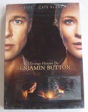 DVD L'ETRANGE HISTOIRE DE BENJAMIN BUTTON - Brad PITT / Cate BLANCHETT - NEUF