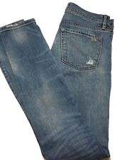 JUICY COUTURE BLUE DISTRESSED SKINNY JEANS, 26, $295