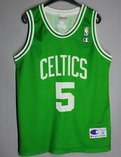 NBA BOSTON CELTICS BASKETBALL SHIRT JERSEY CHAMPION #5 GARNETT