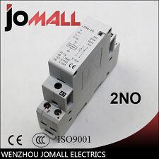CONTACTOR 2 P 16A 220 V/230 V 50/60 HZ carril din 2NO