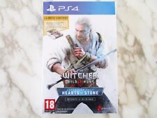 The Witcher 3 III Wild Hunt Hearts of Stone Pack Version Française PS4 NEUF
