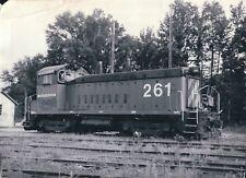1987 Photo EMD Electro-Motive Diesel Railroad SW7 Train 261 Amory MS 5 x 7 Pic