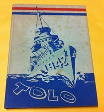 1942 TOLO Franklin High School Yearbook Seattle Washington - FAIR to GOOD (READ)