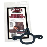 Weaver Rubber Spur Tie Down Straps - Keeps Spurs in Place on Boots