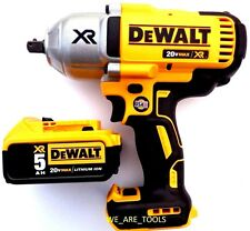 "New Dewalt 20 Volt DCF899 Brushless 700 Lb 1/2"" Impact Wrench, 1) DCB205 Battery"
