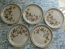 More details for m & s autumn leaves  set of 5 plates 8.5 inch    £22.99 (post free)