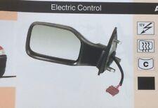 Peugeot 106 91-98 Negro Puerta Espejo Lh eléctrico climatizada de control nuevo ADP111
