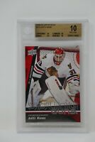 2009-10 Upper Deck #225 Antti Niemi Rookie Young Guns Blackhawks 🔥 Beckett 10